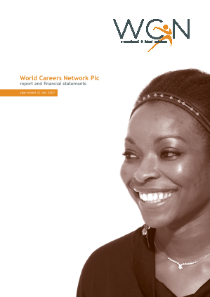 World Careers Network annual report 2007