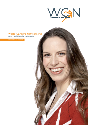 World Careers Network annual report 2008