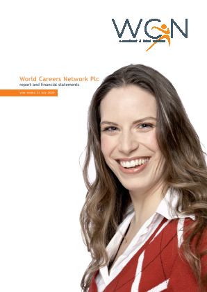 World Careers Network annual report 2009