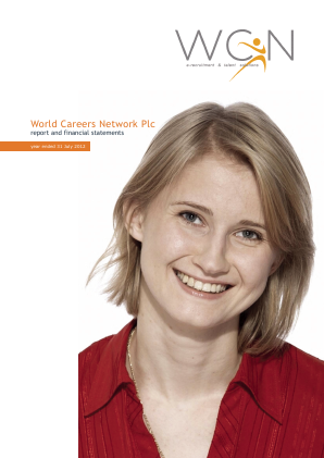 World Careers Network annual report 2012