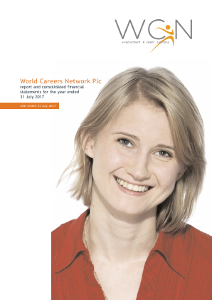 World Careers Network annual report 2017
