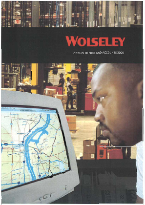 Ferguson Plc (Formally Wolseley Plc) annual report 2000