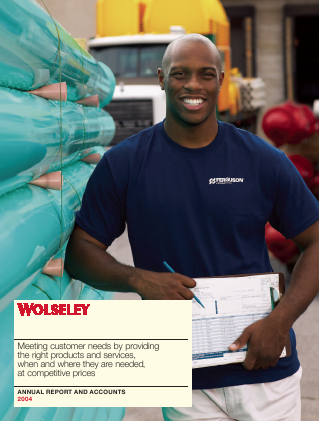 Ferguson Plc (Formally Wolseley Plc) annual report 2004