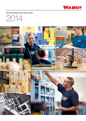 Ferguson Plc (Formally Wolseley Plc) annual report 2014
