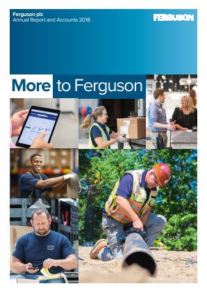Ferguson Plc (Formally Wolseley Plc) annual report 2018