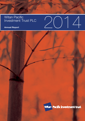 Witan Pacific Investment Trust annual report 2014