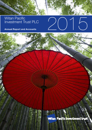 Witan Pacific Investment Trust annual report 2015