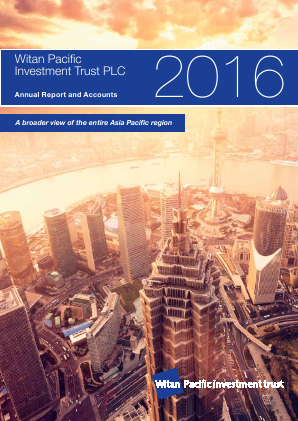 Witan Pacific Investment Trust annual report 2016