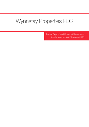 Wynnstay Properties annual report 2016