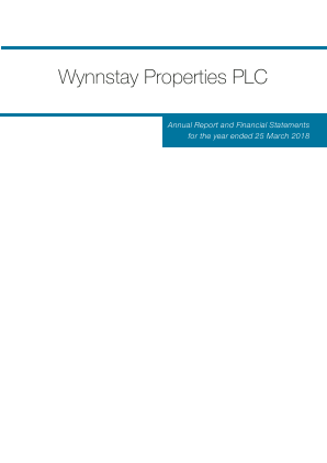Wynnstay Properties annual report 2018