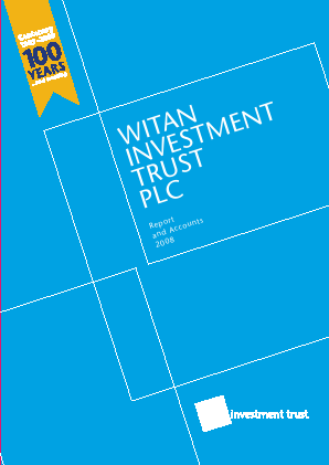 Witan Investment Trust annual report 2008