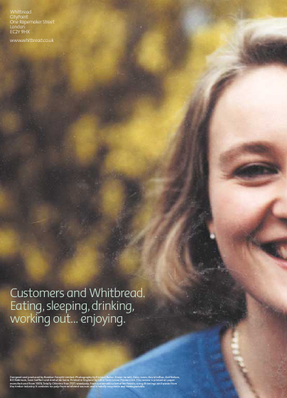 Whitbread annual report 2001