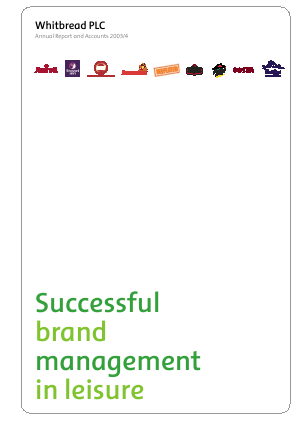 Whitbread annual report 2004
