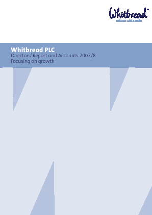 Whitbread annual report 2008