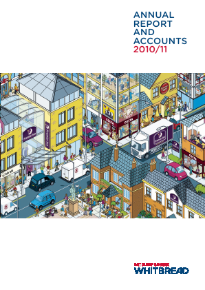 Whitbread annual report 2011