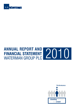 Waterman Group Plc annual report 2010