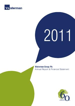 Waterman Group Plc annual report 2011