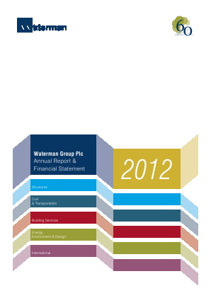 Waterman Group Plc annual report 2012