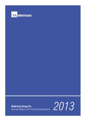 Waterman Group Plc annual report 2013
