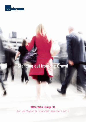 Waterman Group Plc annual report 2015