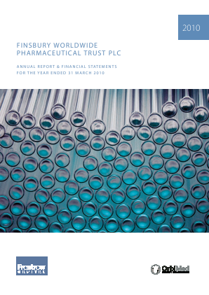 Worldwide Healthcare Trust Plc annual report 2010