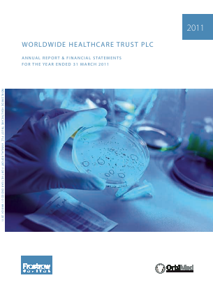 Worldwide Healthcare Trust Plc annual report 2011