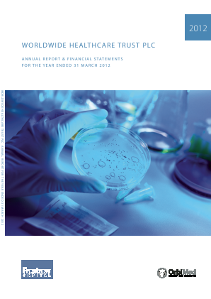 Worldwide Healthcare Trust Plc annual report 2012