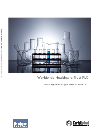 Worldwide Healthcare Trust Plc annual report 2014