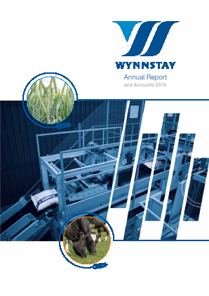 Wynnstay Group annual report 2016