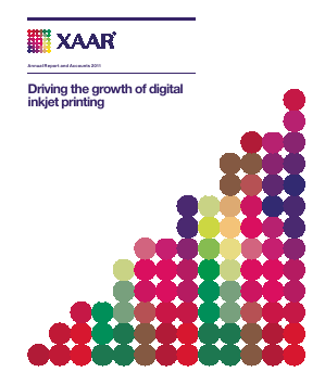 Xaar annual report 2011