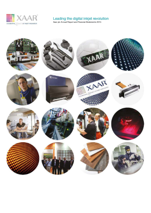 Xaar annual report 2015