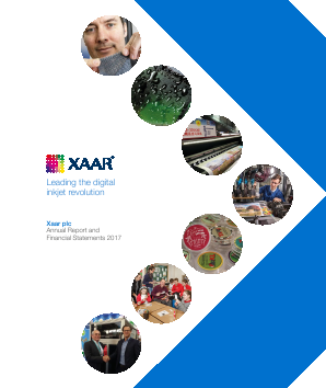 Xaar annual report 2017
