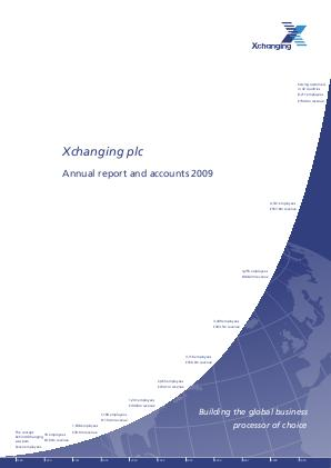 Xchanging Plc annual report 2009