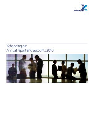 Xchanging Plc annual report 2010