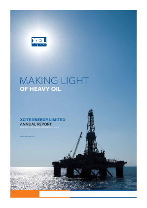 Xcite Energy annual report 2010