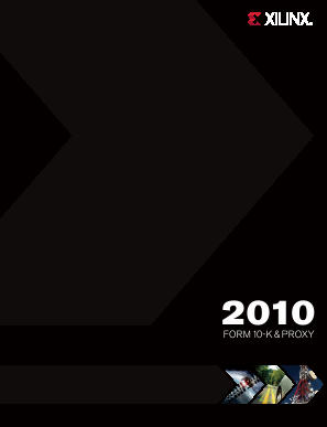 Xilinx Inc. annual report 2010