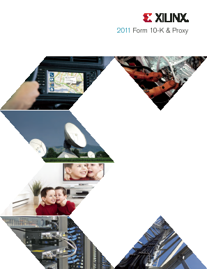 Xilinx Inc. annual report 2011