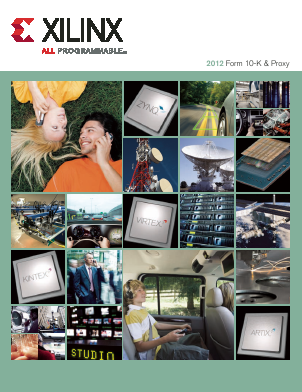 Xilinx Inc. annual report 2012