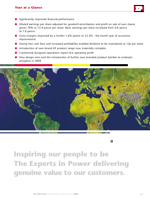 XP Power annual report 2003