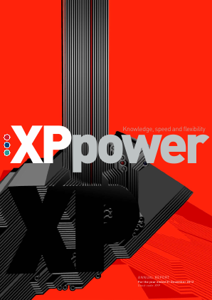 XP Power annual report 2012