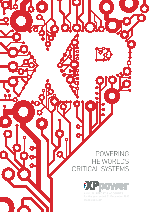 XP Power annual report 2013