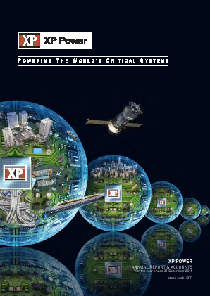 XP Power annual report 2015