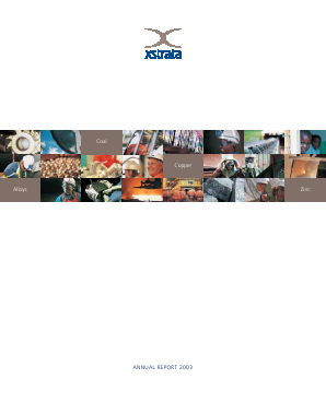 Xstrata annual report 2003