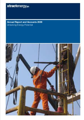 Xtract Resources Plc annual report 2009