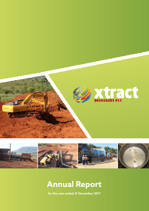 Xtract Resources Plc annual report 2017