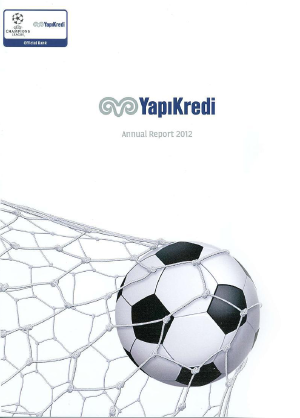 Yapi Ve Kredi Bankasi As annual report 2012