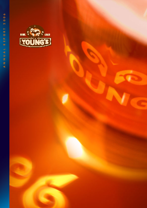 Young & Co's Brewery annual report 2006