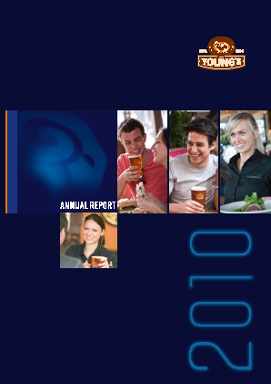 Young & Co's Brewery annual report 2010