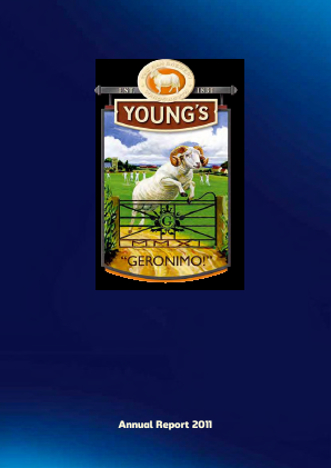 Young & Co's Brewery annual report 2011