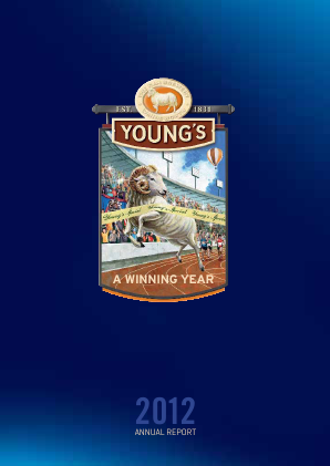 Young & Co's Brewery annual report 2012